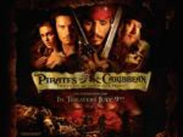 Pirates of the Carribean:Curse of the Black Pearl