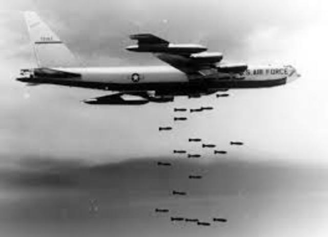 B-52's Begin Bombing North Vietnam