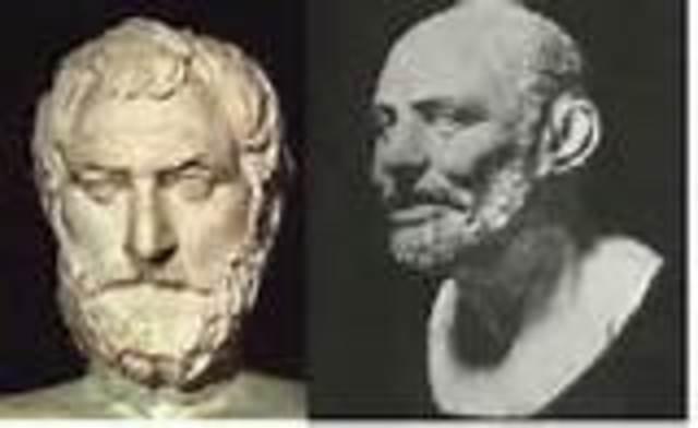 Modelo atómico según los griegos