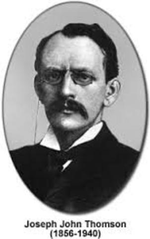 Modelo Atómico de Joseph Thomson