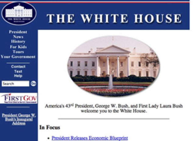 The White House Goes Online