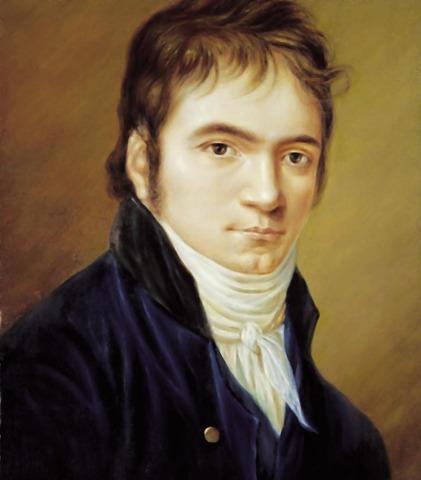Ludwig van Beethoven born