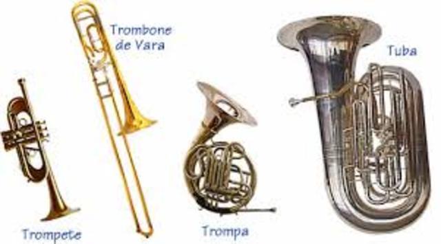 Instrumentos de metais
