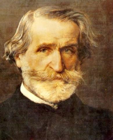 Giuseppe Verdi born