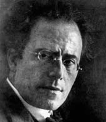 Gustav Mahler born