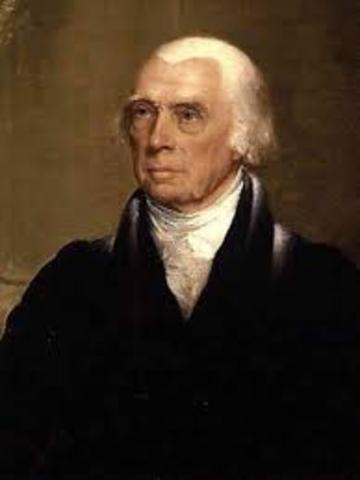 James Madison es el Presidente
