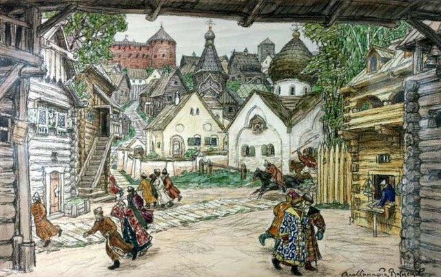 The Sack of Novgorod