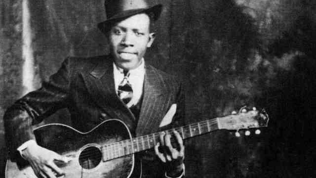 Robert Johnson-Legend of Mississippi Delta blues