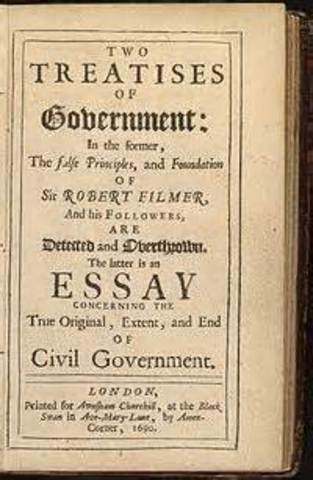 Two Treatises of Government, published