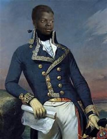 Birth of toussaint L' Ouverture