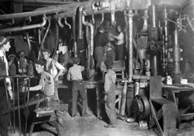 Start of the Industrial Revolution