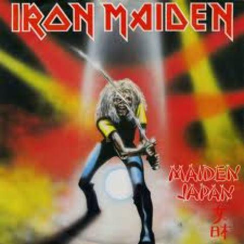 Maiden Japan y Disco de Oro