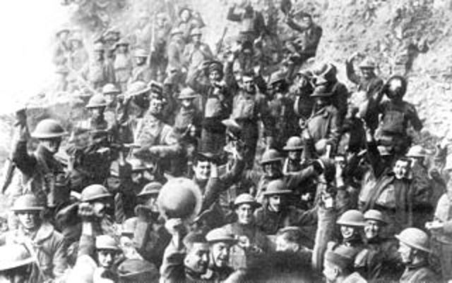 The United States entered World War I