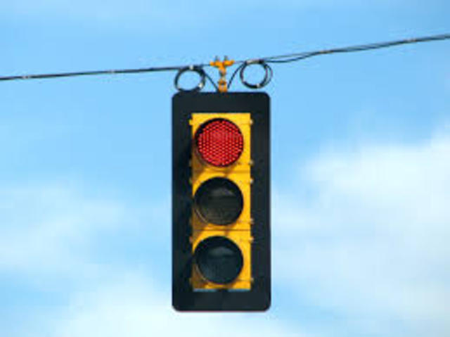 The First Electric Traffic LIght