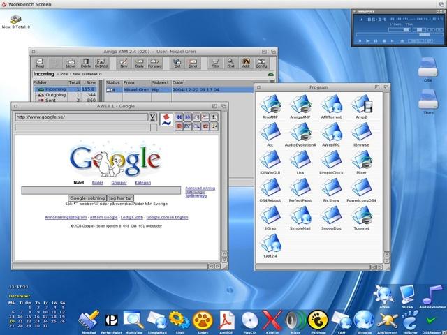 Amiga Workbench 4.0