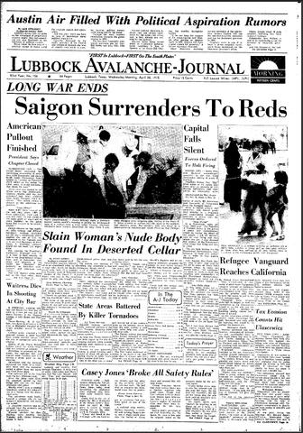 South Vietnam Surrender