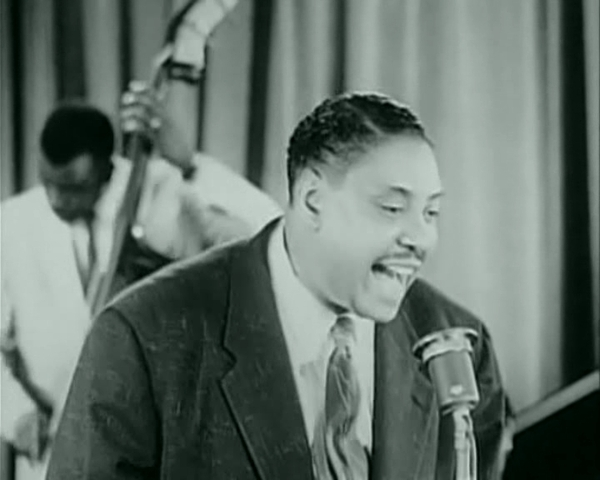 The Year Big Joe Turner Performs With Count Basie Orchestra