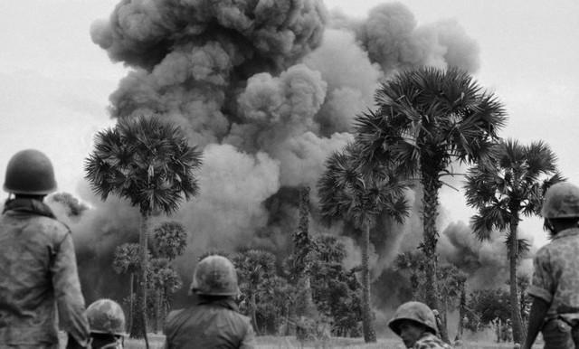 Invasion in Cambodia
