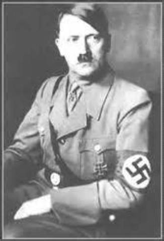 Adolf Hitler commits suicide