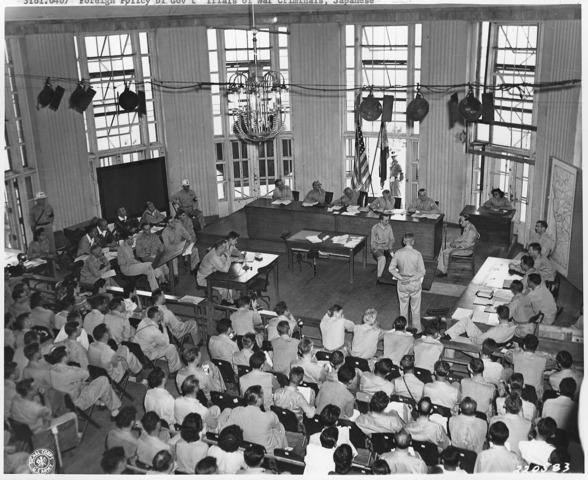 .Japanese War Crime Trials