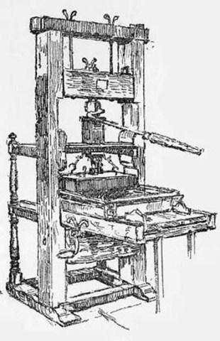 First press in America (Spanish America)