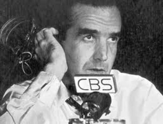 "–Edward R. Murrow's ""See It Now"" focuses on Joseph McCarthy"