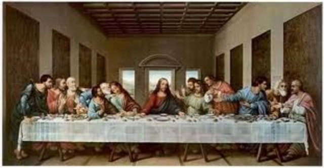 Brgins work on The Last Supper