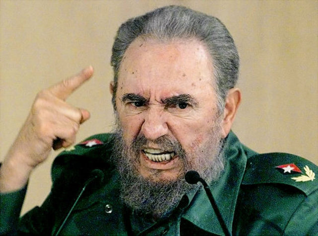 Castro and his army