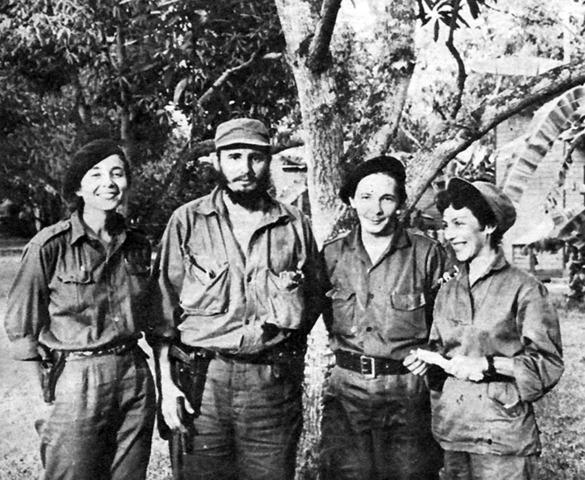 Castro joined the Caribbean legion