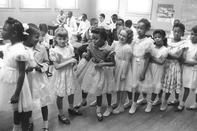 Racial segregation in schools