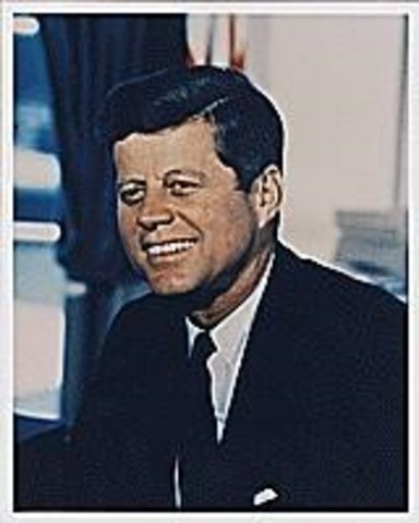 Kennedy won election for president.