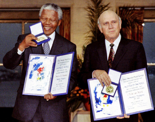 Wins Nobel Peace Prize