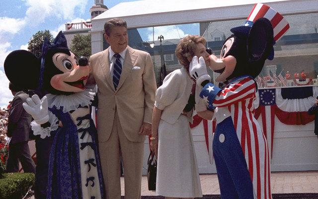 Disneyland opens