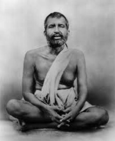 Ramakrishna teaches Vivekananda