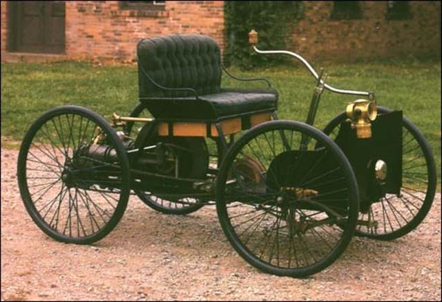 First Gasoline Powered Motor Car