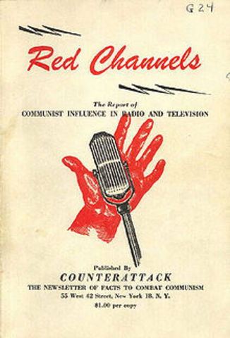 Red Channels: The Communist Influence in Radio and Television ruins careers