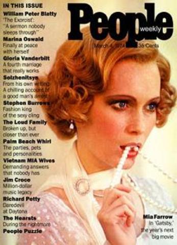 People magazine introduced