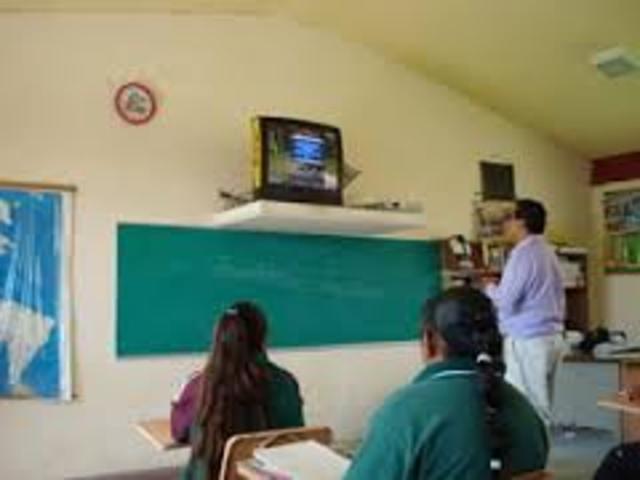 Telesecundaria en Mexico.