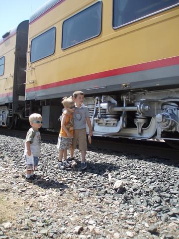 Train visit
