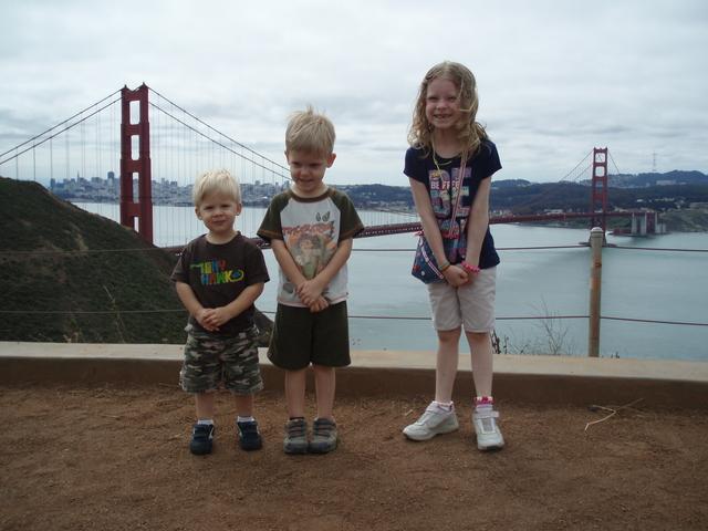 Visit the Golden Gate Bridge