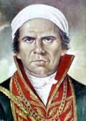 Birth of Jose Maria Morelos