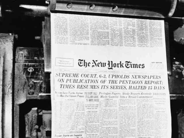 New York Times Co. v. United States