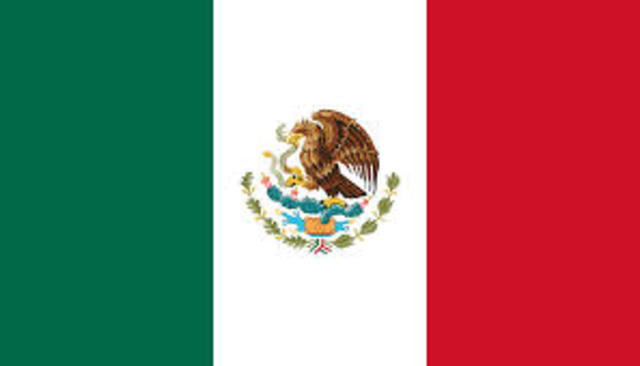 Mexico Delcares Independence