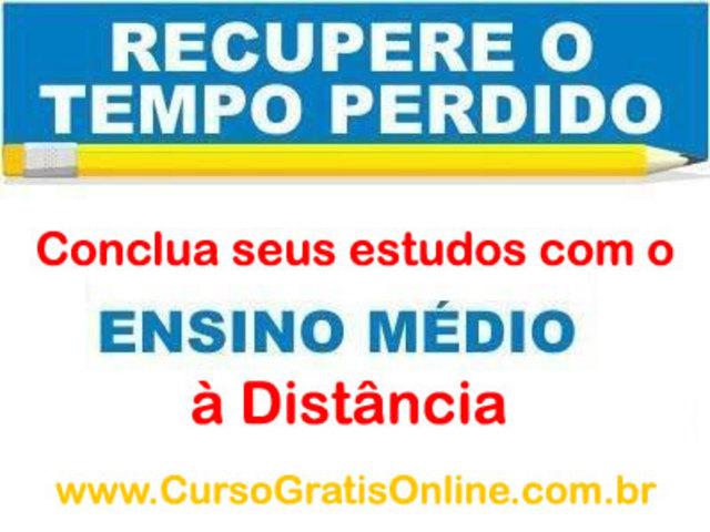 Ensino Médio a Distância em São Paulo.