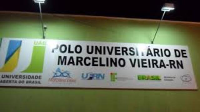 Inauguração do Polo de Marcelino Vieria.