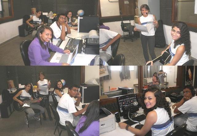 Istalação da Rádio Escola Municipal do Rio