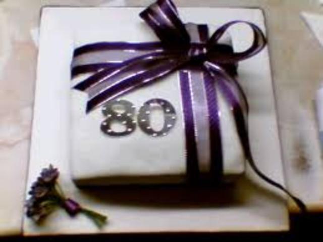 My 80th