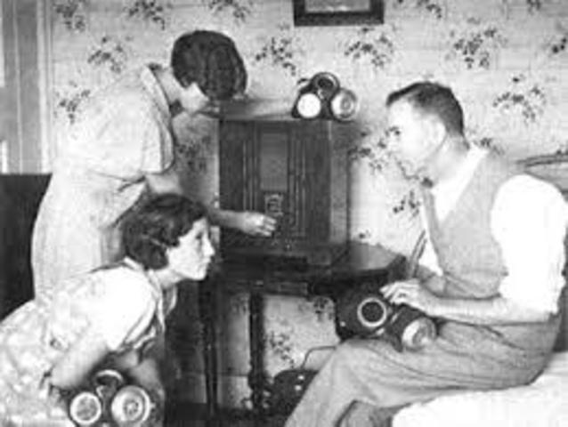 Primera transmision de radio