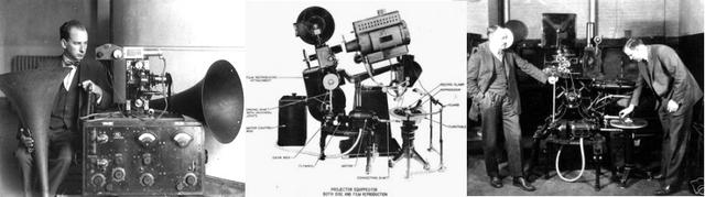 Primeras pruebas de cine con sonido