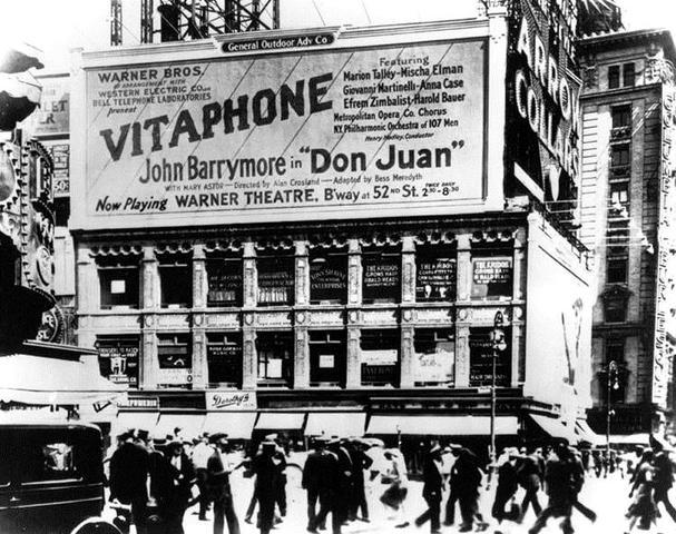 El Cine Sonoro de Vitaphone